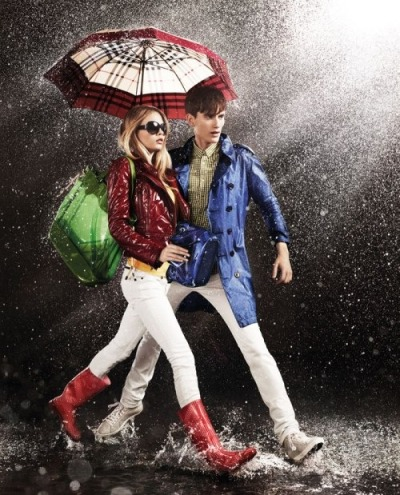 If only rainy days were this stylish…