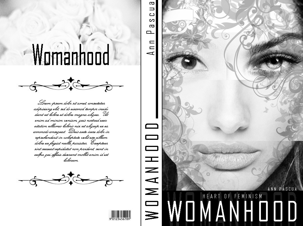 Plate in Presentation Skills (January, 2012) Womanhood (Book Cover Design)