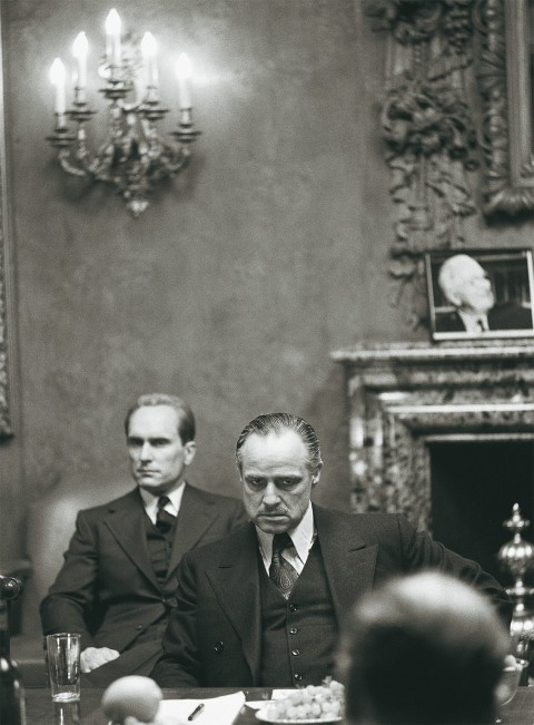 Robert Duvall + Marlon Brando Godfather