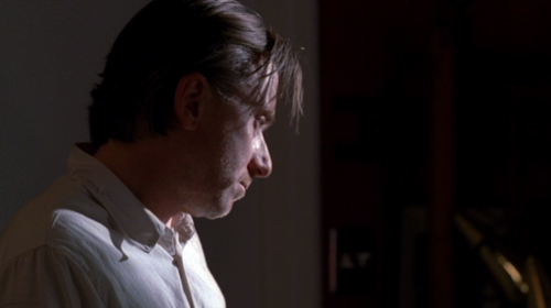 AND THEN THERE WAS A THIRTY SECOND HOMAGE TO TIM ROTH'S FRINGE FLOPPING EMOTIVELY IN THE SUN.