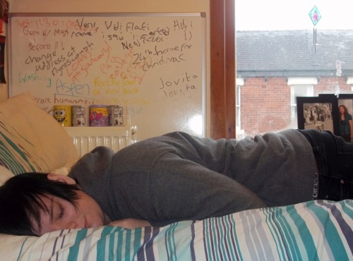 Okay it was posed, but how do i take a picture when i am ASLEEP?!