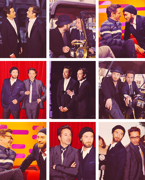 9 pics » Robert Downey Jr & Jude Law in 2011