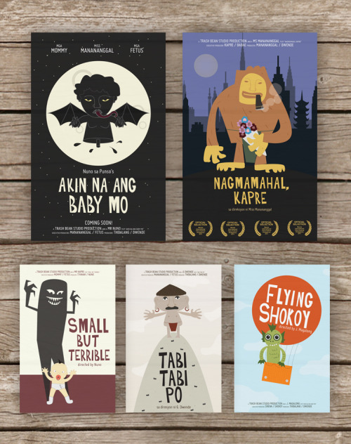 Hello! You can now purchase my Philippine Mythological Creatures Series prints via my Society6 store. :D  Manananggal - Akin na ang baby mo / Nuno sa Punso - Tabi Tabi Po  Shokoy - The Flying Shokoy / Kapre - Nagmamahal, Kapre Tiyanak - Small but Terrible For those in the Philippines without Paypal accounts, you can purchase an A4 sized poster straight from me through bank deposits, just send me a message. :D Happy new year y'all, cheers!