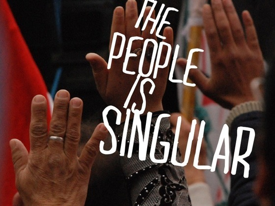 Based on a poetry chapbook by Andy Young, The People Is Singular will be a multimedia event using spoken word, video art, and soundscapes to explore the recent Egyptian Revolution — a presentation as dynamic as the social moment it documents. A one-night only event that will take place at Cafe Istanbul in New Orleans, we think that seeing it happen might be worth the trip. Definitely worth making it our Project of the Day.