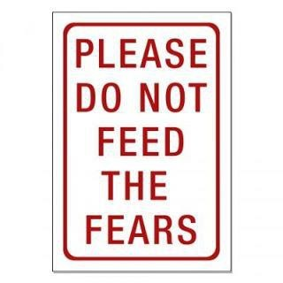 Please do *not* feed the fears.
