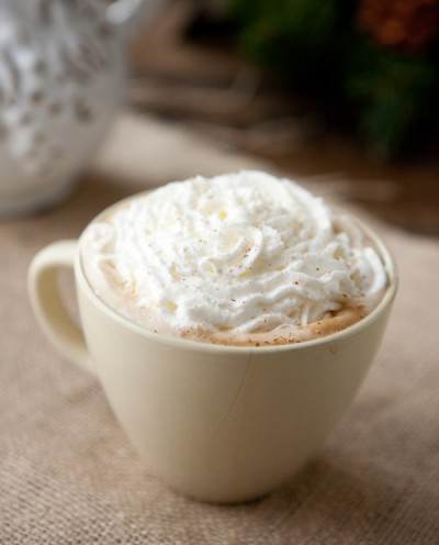 foodopia:  eggnog latte: recipe here