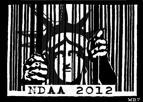 Liberty behind bars - NDAA