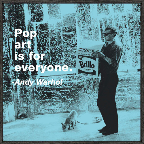 laughingsquid:  Pop Art Is For Everyone  Love Mr. Warhol.