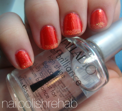 Day Two - Orange Nails Julep - Christina Click the link or picture for more photos, review, and links to the other blogs participating!