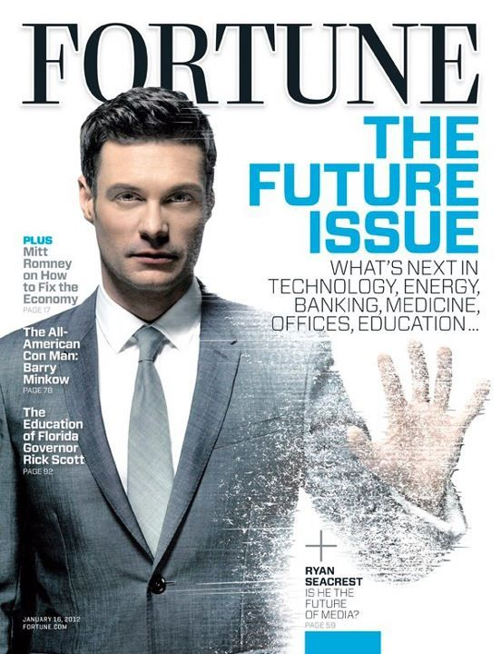 According to FORTUNE, Ryan Seacrest is the future of media.  Say what?