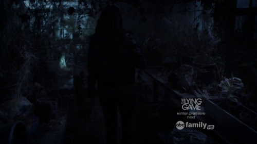 "Scary glasshouse in ""Pretty Little Liars"" 02x14 (Through Many Dangers, Toils and Snares)."