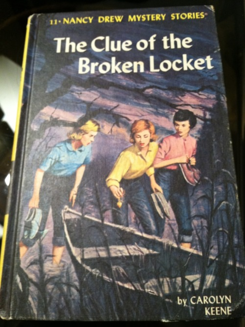 Nancy Drew books Submitted by Elizabeth K.