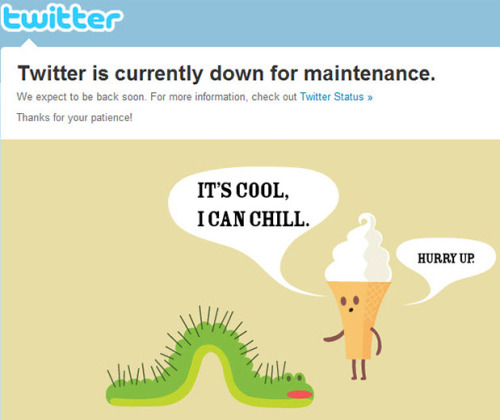 jhoppa:  The first Twitter Tuesday of 2012! Twitter down for over an hour on New Years Eve UPS uses Twitter to help consumers on 'National Return Day' NBA launches Twitter account to defend bad calls Howard Stern drunk dials his followers on New Years Eve Read the first Twitter Tuesday of the year on the eZanga.com blog!