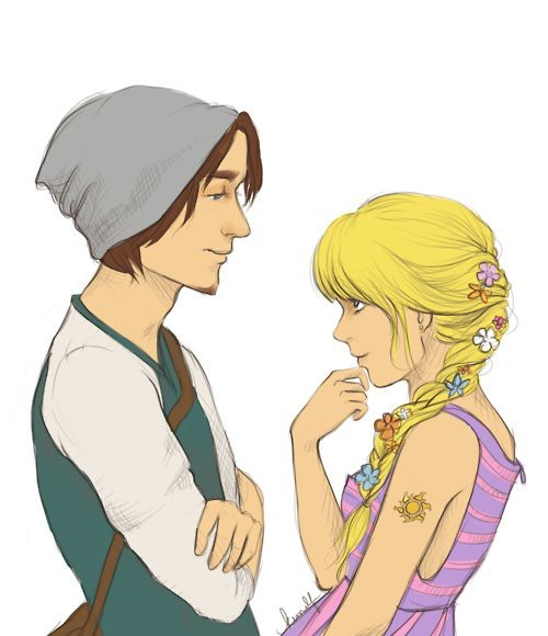 lets-get-tangled:  (via Disney / hipster tangled)