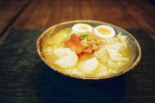 ileftmyheartintokyo:  Shio ramen by mgsn on Flickr.