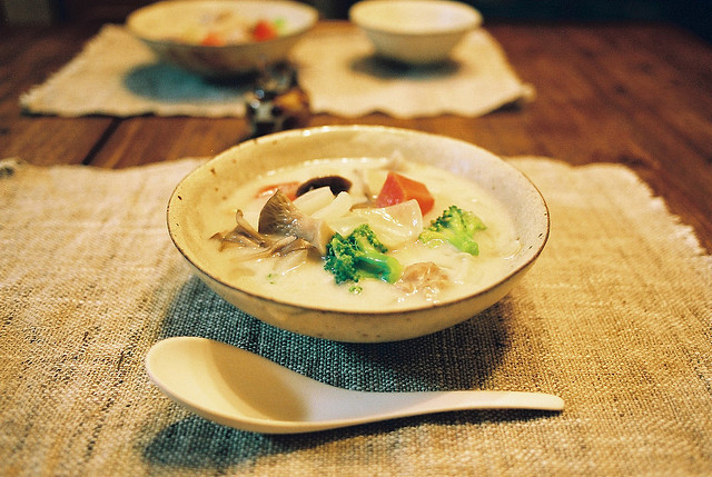 ileftmyheartintokyo:  Cream stew by mgsn on Flickr.