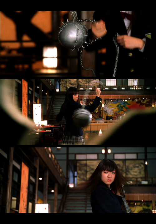 Screenshot-Collage made by www.automatiker.tumblr.com (Kill Bill Vol.1)