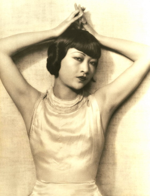 "Happy Birthday Anna May Wong (January 3, 1905 - February 2, 1961) ""The first time I saw Anna May on film, I was very moved to see her, a strong Asian woman, moving across an American movie screen. She was a true pioneer. The look in her eyes, her distinctive style, were all very inspiring to me. I loved the way she turned all the dragon-lady cliches on their heads. She was limited in her roles, but she transcended them. I like to think that all of us have a dragon lady inside us - she represents our power to be ourselves."" ~Vivienne Tam, China Chic"