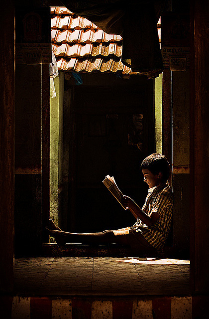 apna-pragmatic-munna:  Enlightenment by Arun Titan on Flickr.