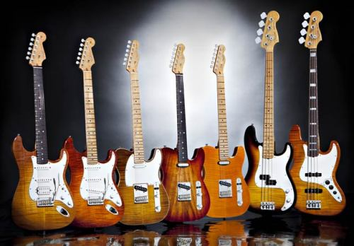 Fender Select Series Just-announced series from Fender offers Custom Shop-style features from their USA shop. Check out the details in our news story.
