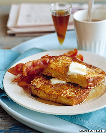 Classic French Toast … every husband/lover/boyfriend should know how to make this. Make!