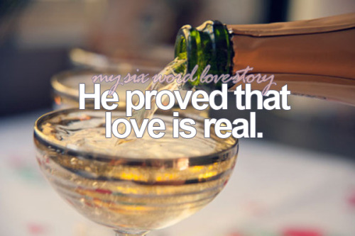 He proved that love is real.