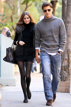 what-do-i-wear:  Olivia Palermo and Johannes Huebl
