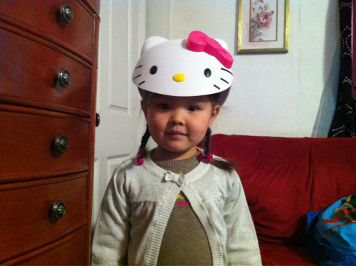 """Im hello kitty!"" ^_^ #helloKitty"