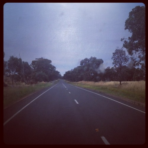 Good morning highway! (Taken with instagram)