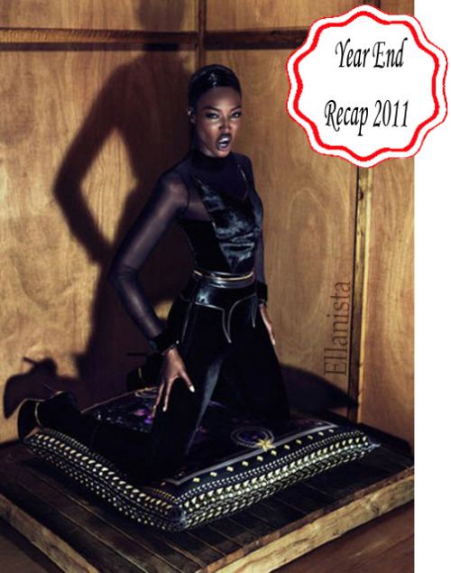 Fashion Ads Naomi Campbell for Givenchy by Riccardo Tisci Autumn/Winter 2011 campaign.