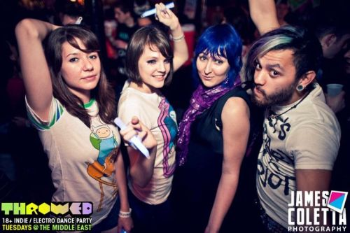 Oh, you know, just me and some of my favorites on a club night. XD