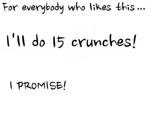 get-skinny-be-skinny:  This is my challenge today! Everybody like!!!!