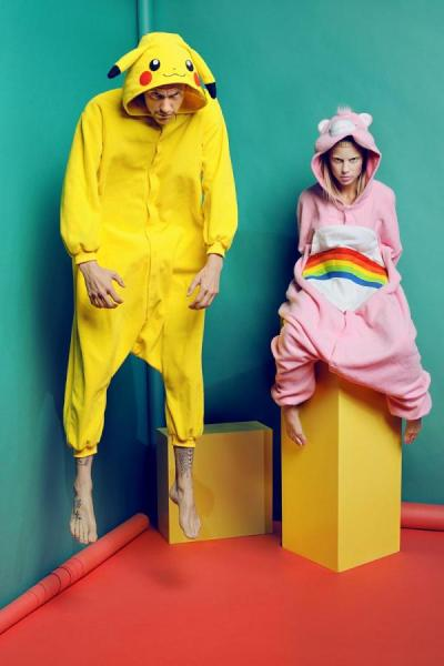 kigurumicanada:  Die Antwoord in Kigurumi! http://www.kigurumi.ca  most adorable thing ever!!!!