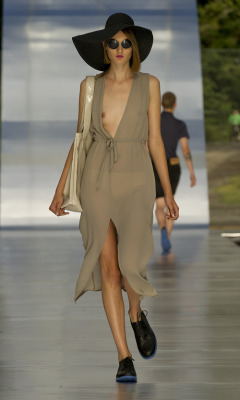 Cheap Monday - Fashion Show SS 2012  Someone get me this now, i can just see myself walking to the beach la de da