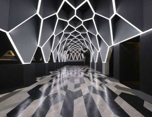 design-sprawl:  Fred Mafia Josephine Roxy Nightclub in Brazil.