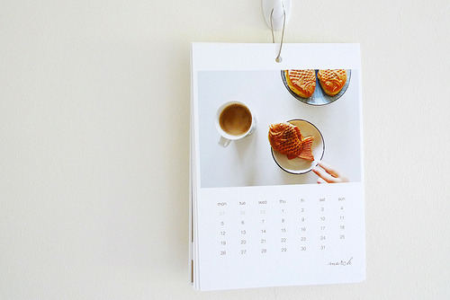 snorlax-cafe:  3 p.m. breaks calendar 2012 (by ~.~ mypictography)