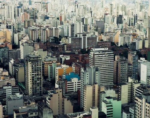 subliminous:  Sao Paulo from Edificio Italia, 2011. Shot for Afar Magazine. joaocanziani.com