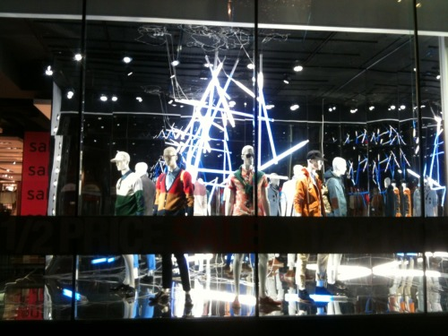 The current window scheme at Topman Oxford Circus.