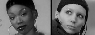 celebsthatcopybrandy:  the girl with the dragon tattoo copies brandy