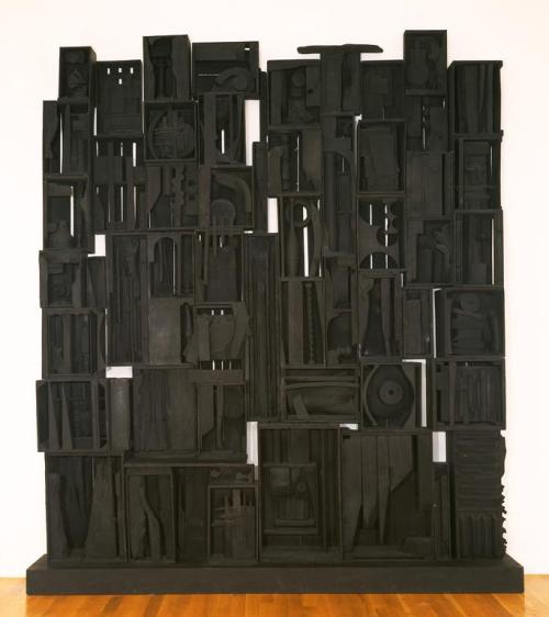 cavetocanvas:  Louise Nevelson, Sky Cathedral, 1958
