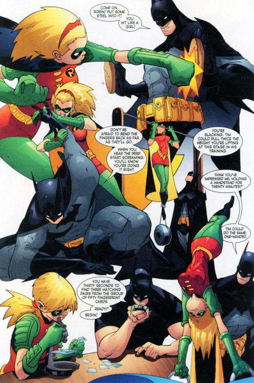 fycomicbookfriendships:  Robin v4 #126 I will get back to posting regularly again later this week, maybe starting Thursday.     I miss stephanie brown sooooooooooooooooo much……