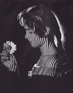 Girl with flower, c1965 by Karel van Straaten from firsttimeuser