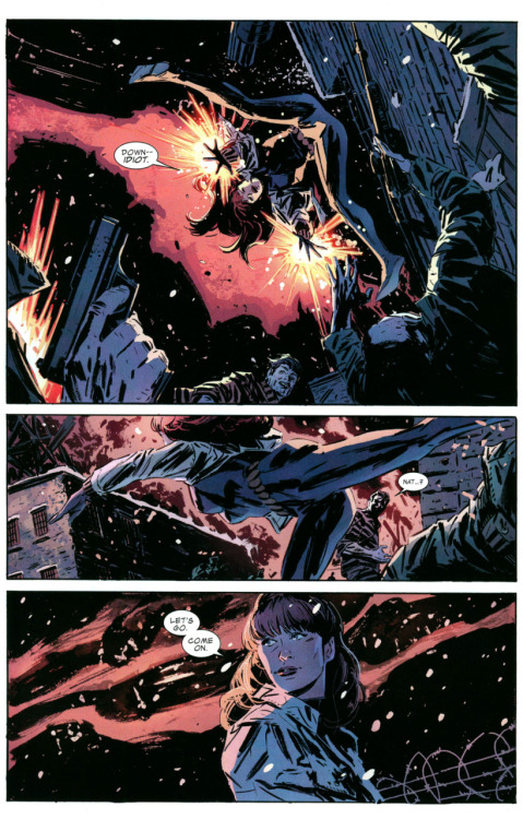 [Captain America v1 #619] Natasha. Saving your boyfriend, again. And looking damn fine doing it.