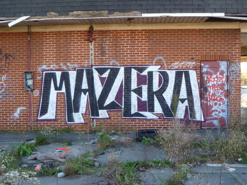 MAZERA. Detroit 2011 on Flickr.MAZERA. #Detroit #Graffiti #Southwest