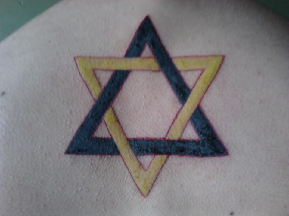 My first Tattoo… with one week. And I'm not Jewish!