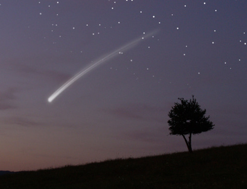 "First meteor shower of 2012, don't miss out! As I stated in my ""What is there to look forward to in 2012?"" post, there are bunches of sky events to look forward to this year. Favoring North America, the first event will occur in the predawn hours (2:30 a.m. EST [0730 GMT]) on Wednesday (January fourth) and it is called Quadrantid meteor shower peaks. While Quadrantids are very unpredictable, this year, the stars are looking very promising. If you're a star-watcher in North America, bundle up and enjoy the show!"