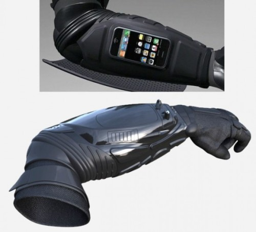 fandom-menace:  Batman gauntlet iPhone dock Don't leave the cave without it …  Want. Actually, NEED!