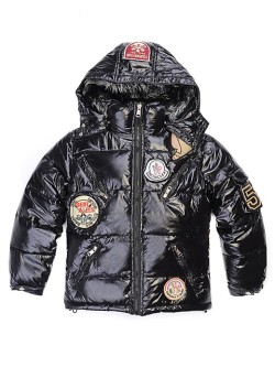 Moncler Jackets For Kids ›               Moncler Kids Jackets Black For Children