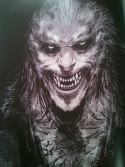 createfate:  Concept art of Fenrir Greyback by Rob Bliss: Harry Potter and the Half-Blood Prince