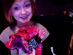 Look how many bandanas I needlessly own!